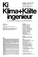 Ki - Klima + Kälte Ingenieur