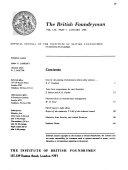 The British Foundryman
