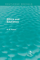 Ethics and Education  Routledge Revivals