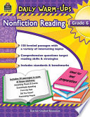Nonfiction Reading, Grade 6