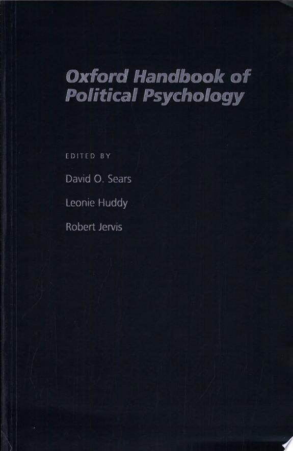 The Oxford Handbook of Political Ps