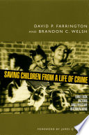 Saving Children From A Life Of Crime Early Risk Factors And Effective Interventions [Pdf/ePub] eBook