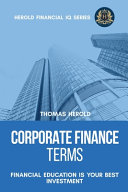 Corporate Finance Terms - Financial Education Is Your Best Investment