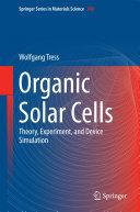 Organic Solar Cells Book