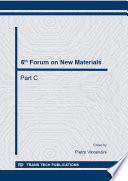 6th Forum on New Materials