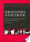 Job Hunter's Sourcebook
