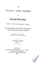 The Plays and Poems of Shakspeare: Twelfth night. Much ado about nothing. As you like it