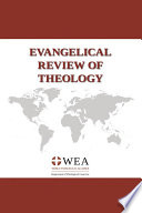Evangelical Review Of Theology Volume 45 Number 1 February 2021