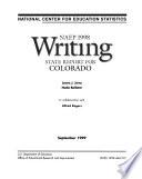 NAEP     Writing Report for Colorado