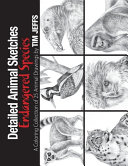 Detailed Animal Sketches Endangered Species