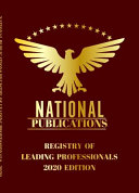 National Publication of Leading Professionals 2020   Volume 1 Red Book Edition