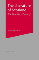 The Literature of Scotland  The Twentieth Century