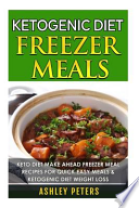 Ketogenic Diet Freezer Meals