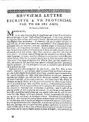 Neuuie'me lettre escritte a vn prouincial par vn de ses amis. De Paris le 3. Iuillet 1656