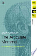 Cover of The Articulate Mammal