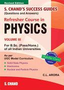 S.Chand'S Success Guide R/C B.Sc Physics Vol -3 Pdf/ePub eBook