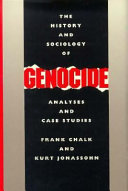 The History and Sociology of Genocide Pdf/ePub eBook