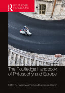 The Routledge Handbook of Philosophy and Europe Pdf/ePub eBook