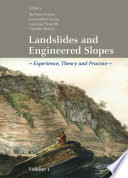 Landslides and Engineered Slopes. Experience, Theory and Practice