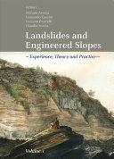 Landslides and Engineered Slopes. Experience, Theory and Practice Pdf