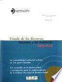 Estado de los recursos naturales y del ambiente