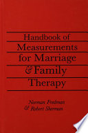 Handbook Of Measurements For Marriage And Family Therapy