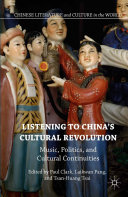Pdf Listening to China's Cultural Revolution Telecharger
