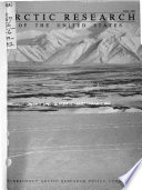 Arctic Research of the United States Book