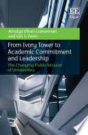 From Ivory Tower to Academic Commitment and Leadership