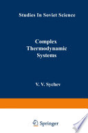 Complex Thermodynamic Systems