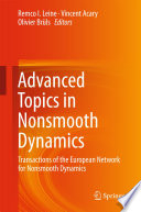 Advanced Topics In Nonsmooth Dynamics Book PDF