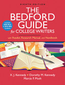 The Bedford Guide for College Writers with Reader  Research Manual  and Handbook with 2009 MLA and 2010 APA Updates