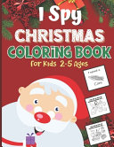 I Spy Coloring Book For Kids 2 5 Ages