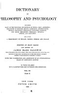 Dictionary of Philosophy and Psychology: General bibliographies