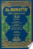 Al Muwatta The Approved 1 2 Ibn Malek Vol 1