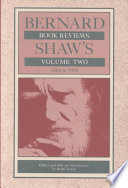 Bernard Shaw S Book Reviews 1884 1950 Book PDF