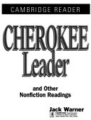 Cherokee Leader and Other Stories