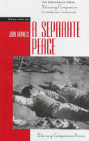 Readings on A Separate Peace