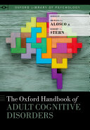 The Oxford Handbook of Adult Cognitive Disorders Pdf/ePub eBook