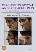 Diagnosing Dental and Orofacial Pain