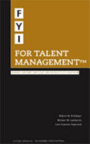 FYI for Talent Management Book