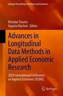Advances in Longitudinal Data Methods in Applied Economic Research