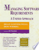 Cover of Managing Software Requirements