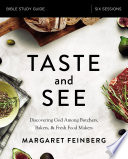 Taste and See Study Guide Book