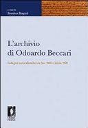 L'archivio di Odoardo Beccari
