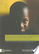 Family and Community Interventions for Children Affected by AIDS Book