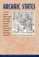 Archaic States