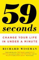59 Seconds Book