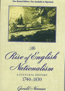 The Rise of English Nationalism
