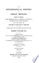 An ecclesiastical history of Great Britain